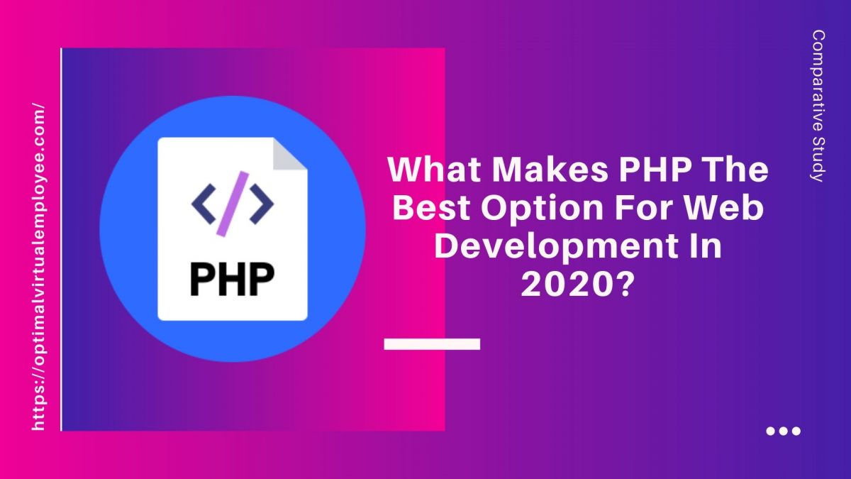 What Makes PHP The Best Option For Web Development In 2020?