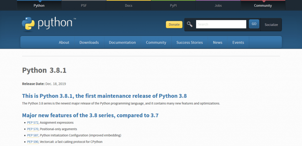 How to install python image 2