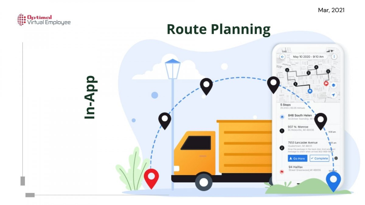 The Ultimate Guide on In-App Route Planning
