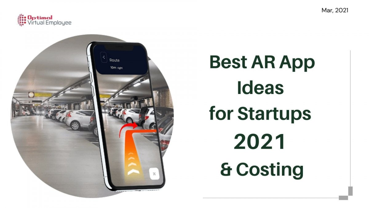 Best AR App Ideas for Startups 2021 with Costing