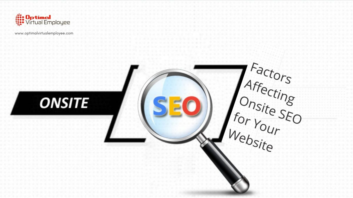 Factors Affecting Onsite SEO for Your Website